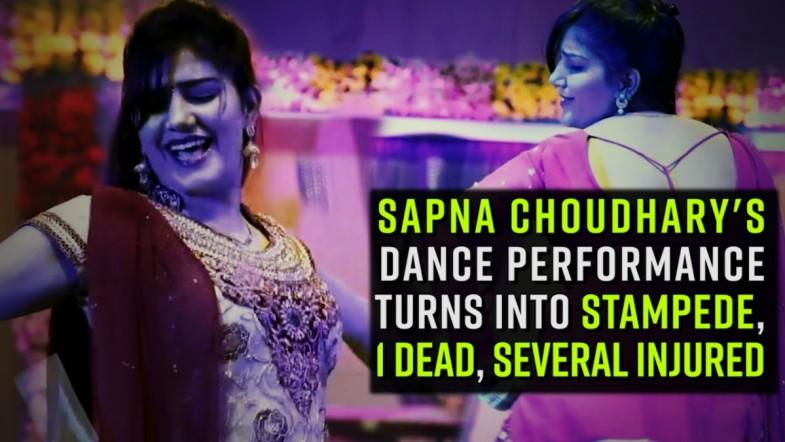 Sapna Choudharys dance performance turns into stampede, 1 dead, several injured