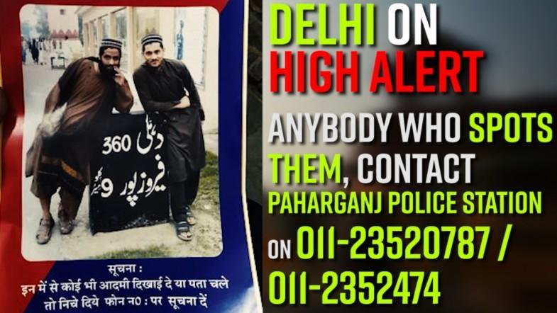 National Capital on  High Alert for Suspected Jaish-e-Mohammad terrorists