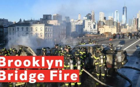 Brooklyn Bridge Fire: Car Crash Shuts Down Bridge, Multiple Injuries Reported