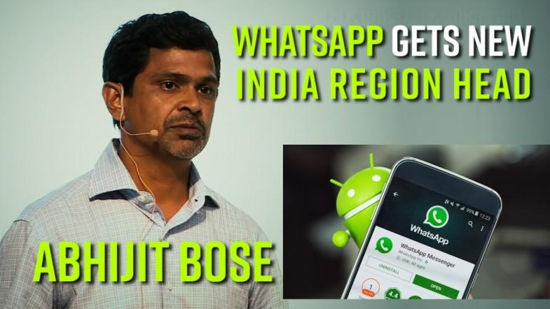 WhatsApp gets new India region head