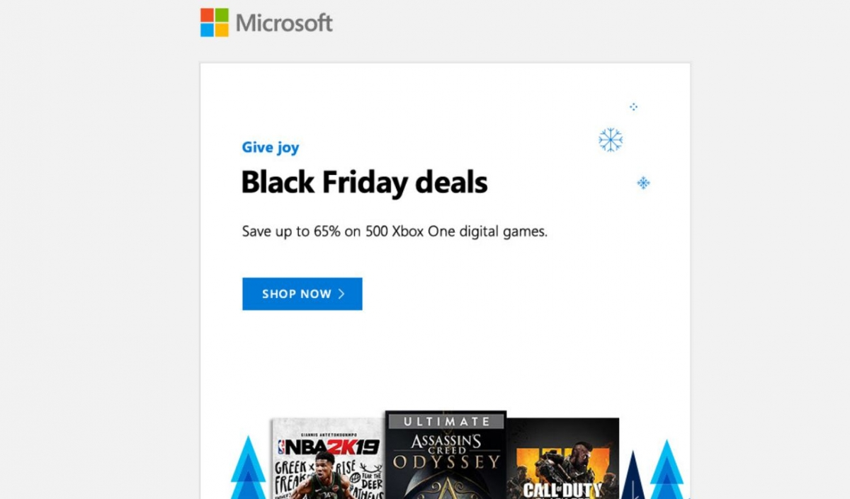 Microsoft Store Black Friday Sale Top Deals On Xbox One