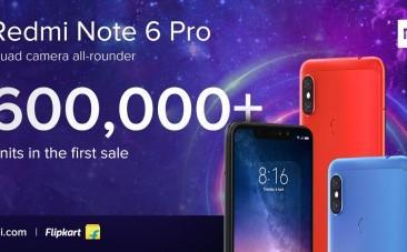 Xiaomi Redmi Note 6 Pro sale in India
