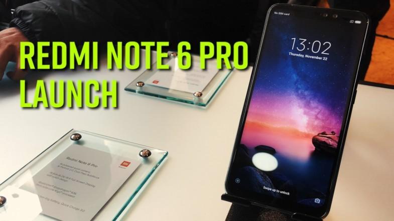 Redmi Note 6 Pro launch