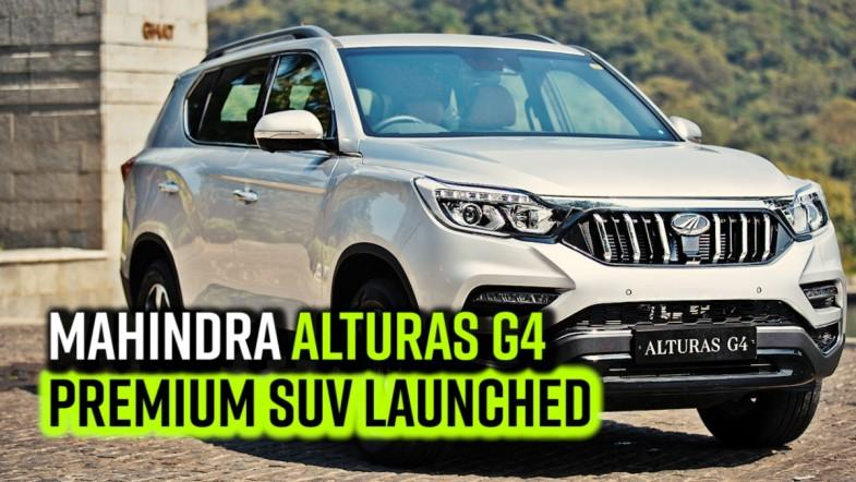 Mahindra Alturas G4 premium SUV launched