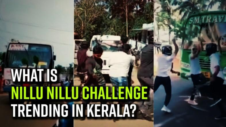 What is Nillu Nillu challenge trending in Kerala?