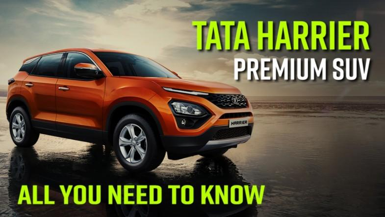 Tata Harrier premium SUV; all you need to know