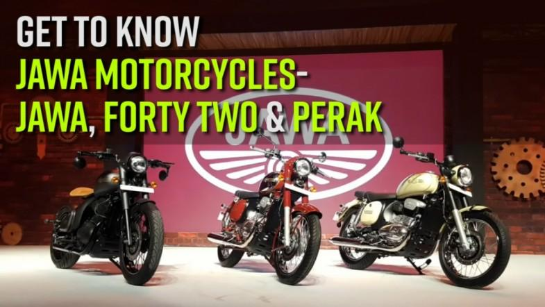 Get to know Jawa Motorcycles- Jawa, Forty Two and Perak