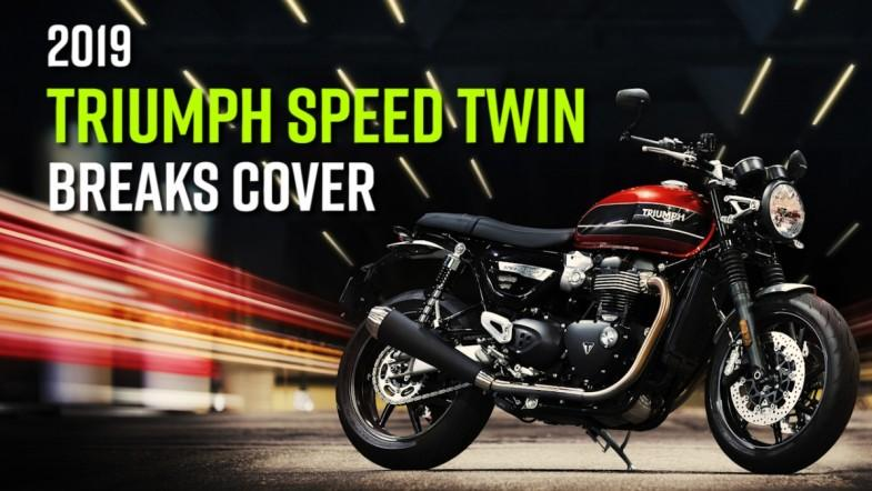 2019 Triumph Speed Twin breaks cover