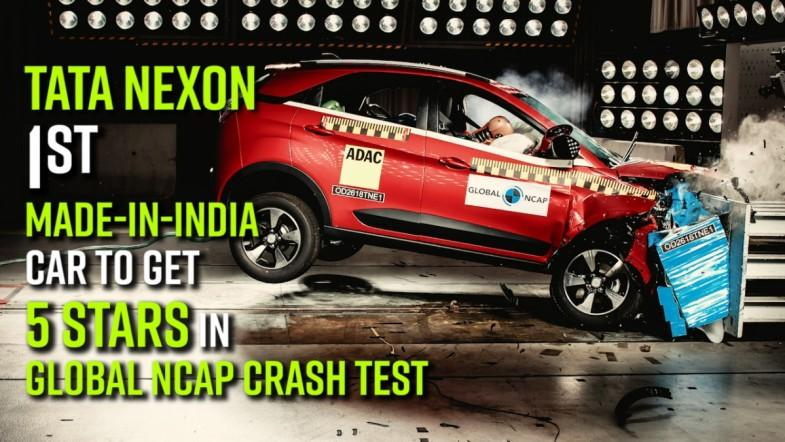 Tata Nexon, 1st made-in-India car to get 5 stars in Global NCAP crash test