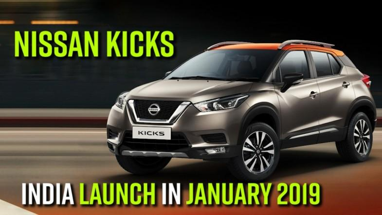 Nissan Kicks India launch in January 2019