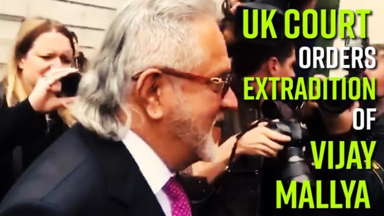 UK court orders extradition of Vijay Mallya
