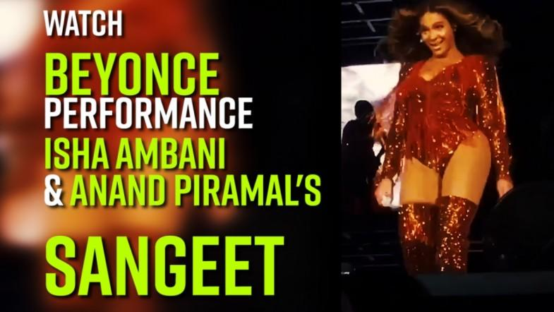 Watch: Isha Ambani and Anand Piramals Sangeet, A pre-wedding celebrations in udaipur