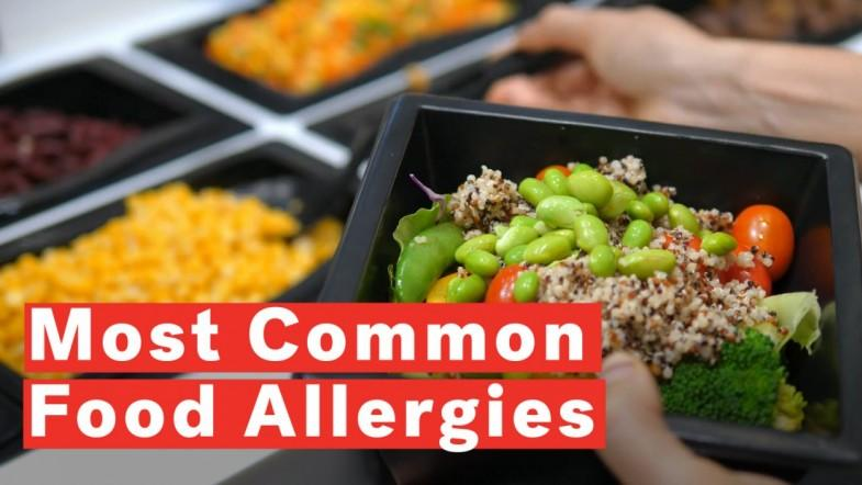 5 Most Common Food Allergies