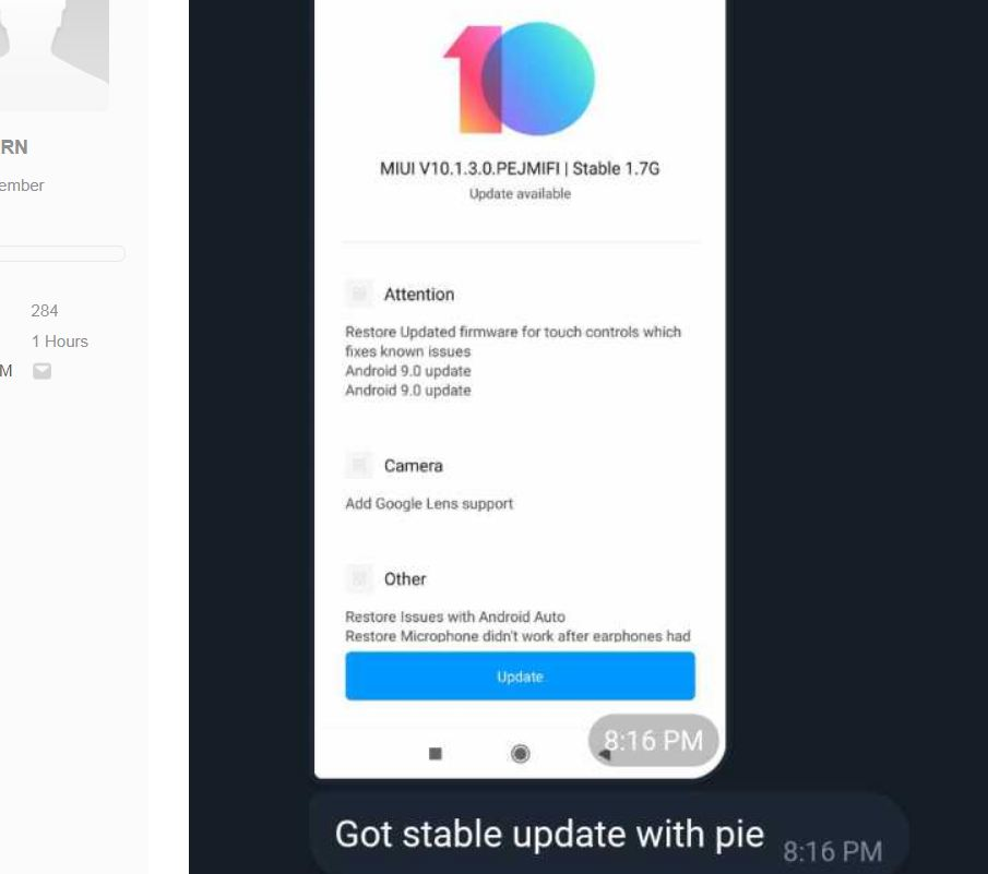 Poco F1 gets Android Pie-based MIUI 10 global ROM update