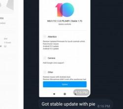 Poco F1, Android Pie, MIUI 10, update, how to install