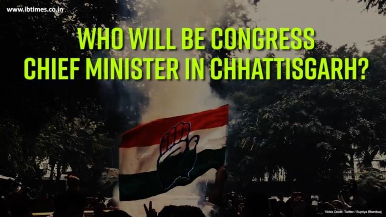 Who will be Congress Chief Minister in Chhattisgarh?
