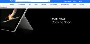 Flipkart, Microsoft, Surface Go, teaser