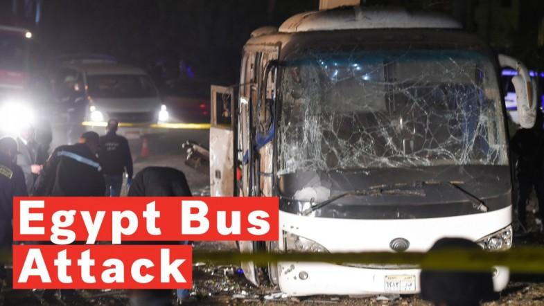 Bus Attack Leaves 2 Dead, Multiple Injured Near Egypts Giza Pyramids