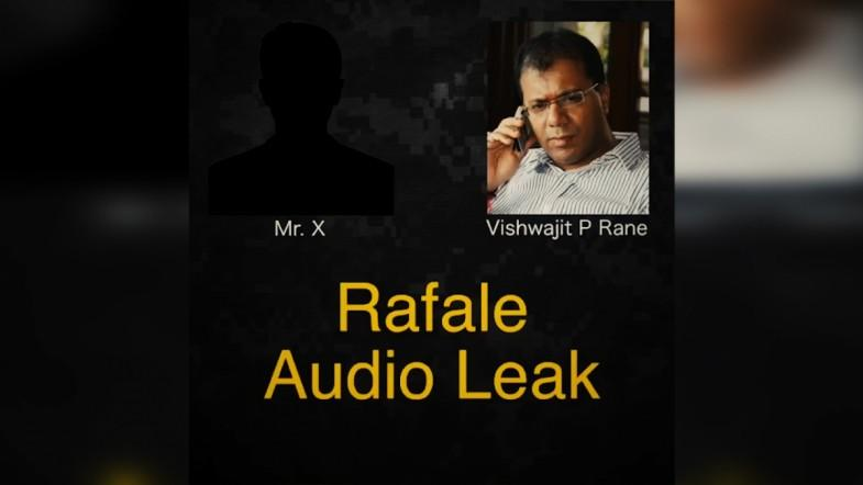 Rafale Audio Leak: The leaked conversation with BJP MLA, Vishwajit P Rane