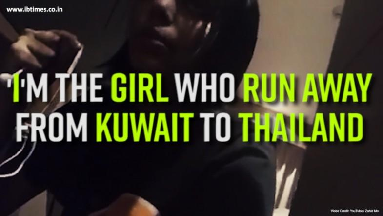 Im the girl who run away from Kuwait to Thailand