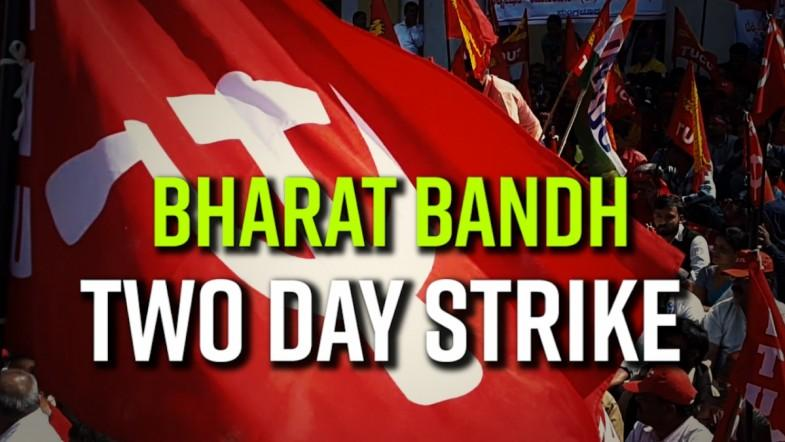 Central Trade Unions 2-day strike affects normal life