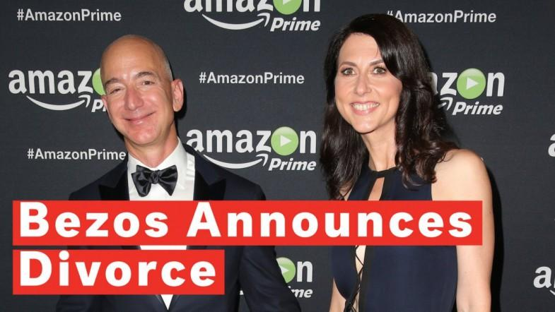 The Worlds Most Expensive Divorce? Jeff Bezos Announces Split From Wife MacKenzie