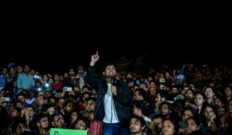 Indian student union leader Kanhaiya Kumar