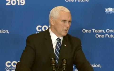 Vice President Pence Touts Americas Proud Record Of Support For Refugees