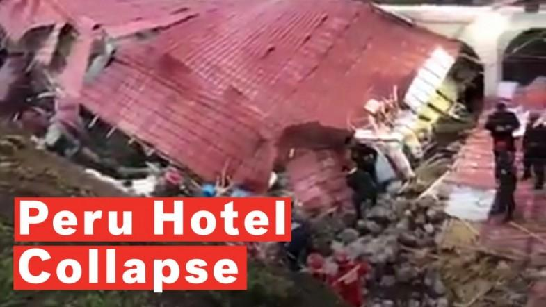 Hotel Collapse In Peru Kills At Least 15 During Wedding