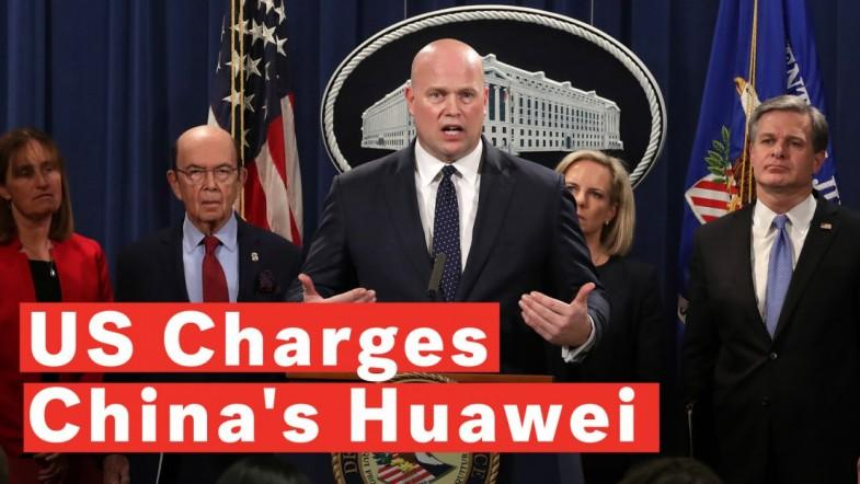 US Justice Department Files Criminal Charges Against Chinas Huawei