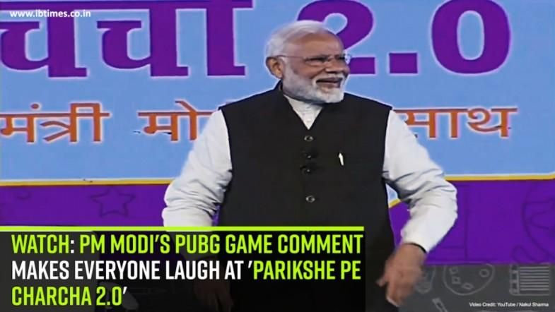 Watch: PM Modis PUBG Game comment makes everyone laugh at Pariksha Pe Charcha 2.0