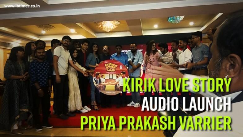 Kirik Love Story   Priya Prakash Varrier   Kannada Film Audio Launch