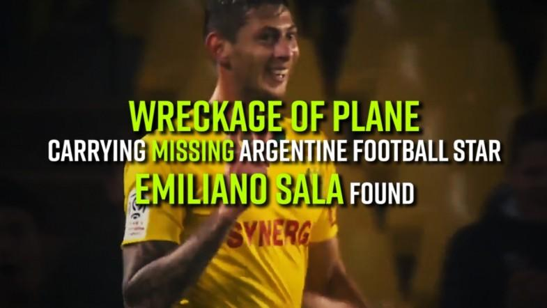Wreckage of plane carrying missing Argentine football star Emiliano Sala found