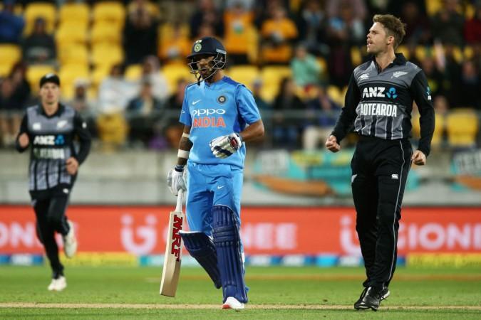 Squadra di cricket dell'India Shikhar Dhawan