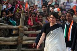 Indian Congress Party leader Priyanka Gandhi