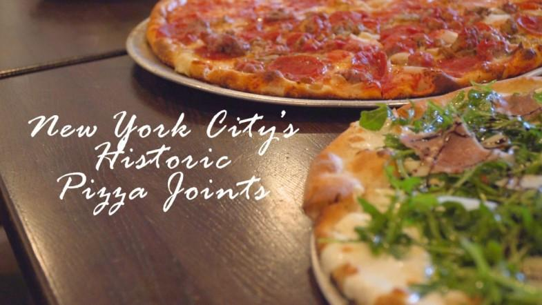 New York Citys Historic Pizza Joints