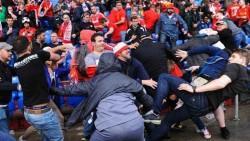 Lazio Sevilla fight