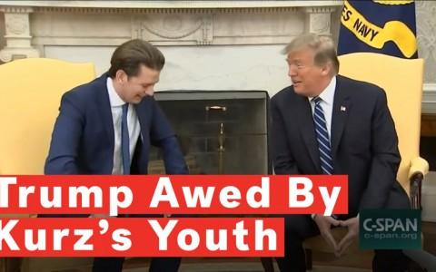 President Trump Awed By Austrian Chancellor: You Are A Young Guy