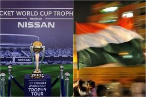 World Cup India flag