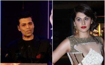 Did Taapsee Pannu take a dig at Karan Johar?