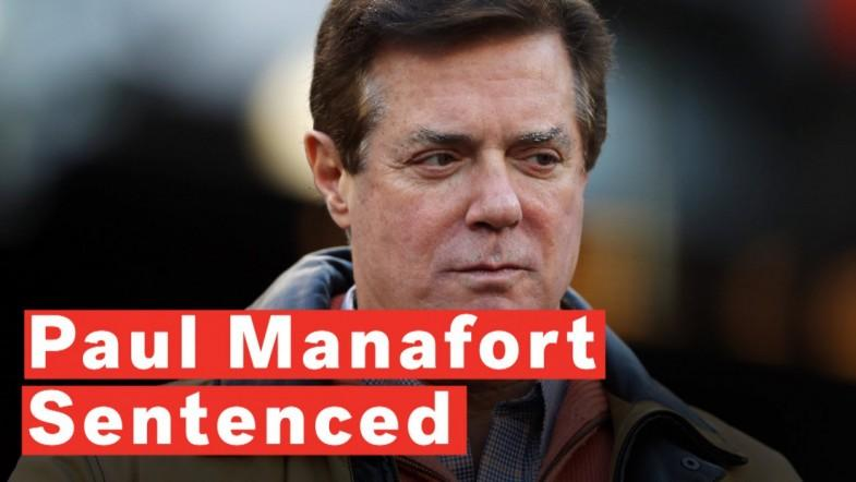 Former Trump Campaign Aide Paul Manafort Sentenced To 47 Months For Fraud