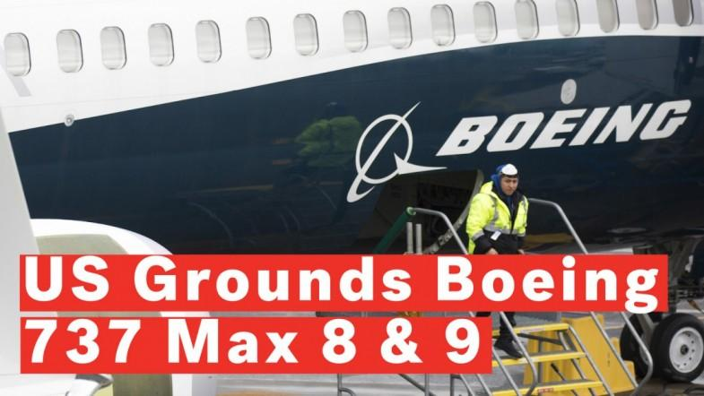 US Grounds Boeing 737 Max 8 And 9 Jets After Fatal Ethiopian Airlines Crash