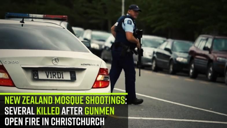New Zealand mosque shootings: Several killed after gunmen open fire in Christchurch