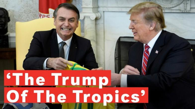 Jair Bolsonaro Is Brazil's Version Of Donald Trump