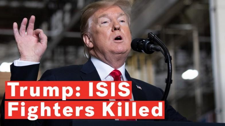 Trump Says ISIS Fighters Tied To Syria Suicide Bombing Of Americans Were Killed
