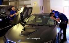 Ambani car garage BMW i8