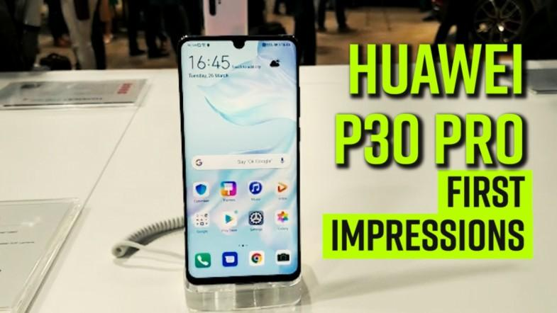 Huawei P30 Pro First Impressions, a super camera smartphone with extensive photography skills