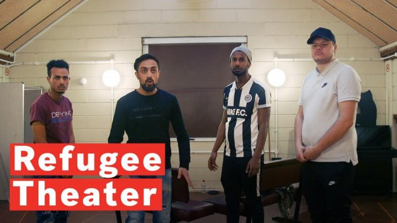 The Refugees Using Theater To Share Their Stories