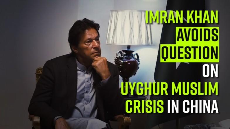 Imran Khan avoids question on Uyghur Muslim crisis in China