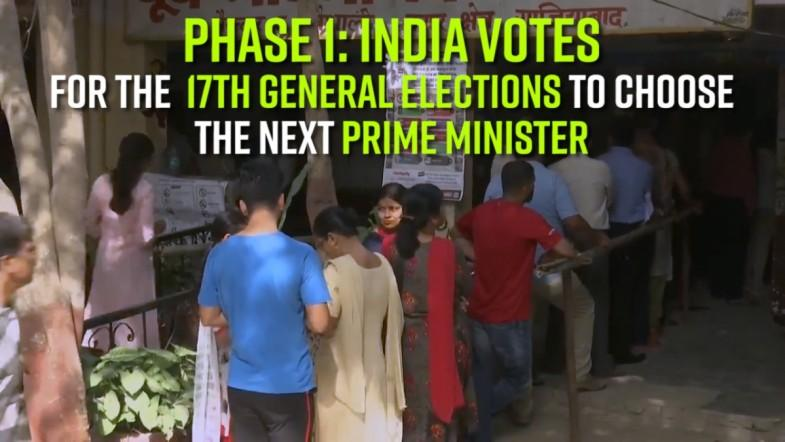 Phase 1: India Votes for the 17th General Elections to choose the next Prime Minister